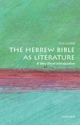 Cover for The Hebrew Bible as Literature: A Very Short Introduction
