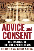 Advice and Consent The Politics of Judicial Appointments