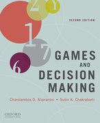 Cover for Games and Decision Making
