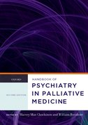 Cover for Handbook of Psychiatry in Palliative Medicine