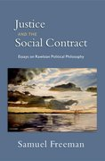 Cover for Justice and the Social Contract