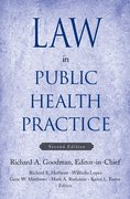 Cover for Law in Public Health Practice