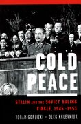 Cover for Cold Peace