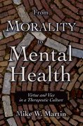 Cover for From Morality to Mental Health