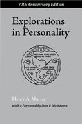Cover for Explorations in Personality
