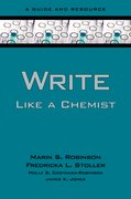 Cover for Write Like a Chemist