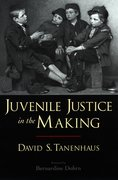 Cover for Juvenile Justice in the Making