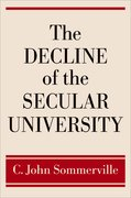 Cover for The Decline of the Secular University