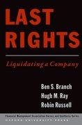Cover for Last Rights