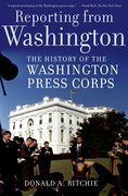 Cover for Reporting from Washington