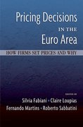Cover for Pricing Decisions in the Euro Area