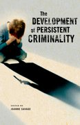 Cover for The Development of Persistent Criminality
