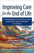 Cover for Improving Care for the End of Life