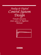 Cover for Analog and Digital Control System Design