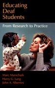 Cover for Educating Deaf Students