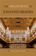 Cover for The Organ Music of Johannes Brahms