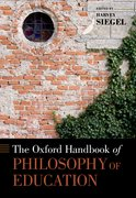 Cover for The Oxford Handbook of Philosophy of Education