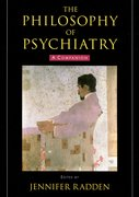 Cover for The Philosophy of Psychiatry