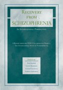 Cover for Recovery from Schizophrenia: An International Perspective