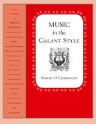 Cover for Music in the Galant Style