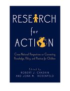 Cover for Research for Action