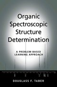 Cover for Organic Spectroscopic Structure Determination