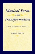 Cover for Musical Form and Transformation