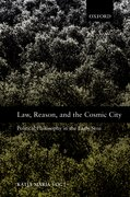 Cover for Law, Reason, and the Cosmic City