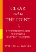 Cover for Clear and to the Point