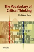 Cover for The Vocabulary of Critical Thinking