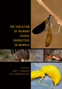 Cover for The Evolution of Primary Sexual Characters in Animals
