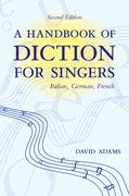 Cover for A Handbook of Diction for Singers
