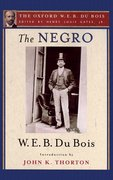 Cover for The Negro (The Oxford W. E. B. Du Bois)