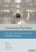 Cover for Classics of Community Psychiatry