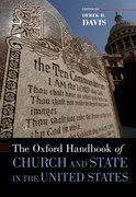 Cover for The Oxford Handbook of Church and State in the United States