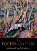 Cover for The Poetry of Sappho