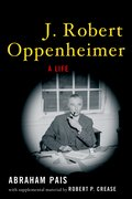 Cover for J. Robert Oppenheimer