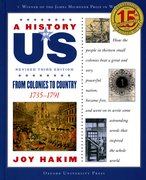 Cover for A History of US: From Colonies to Country