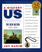 Cover for A History of US: The New Nation