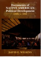 Cover for Documents of Native American Political Development