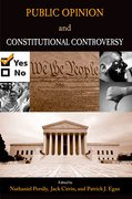 Cover for Public Opinion and Constitutional Controversy