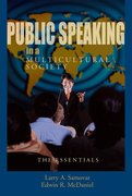 Cover for Public Speaking in a Multicultural Society