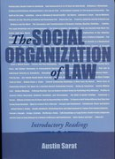 Cover for The Social Organization of Law