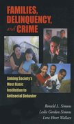 Cover for Families, Delinquency, and Crime
