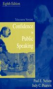 Cover for Confidence in Public Speaking
