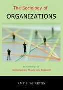 Cover for The Sociology of Organizations