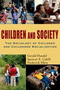 Cover for Children and Society