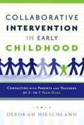 Cover for Collaborative Intervention in Early Childhood