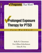 Cover for Prolonged Exposure Therapy for PTSD Teen Workbook
