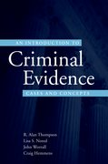 Cover for An Introduction to Criminal Evidence